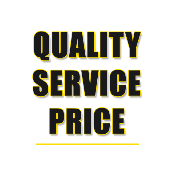 Since 1977 Lakeside's Motto, QUALITY, SERVICE, PRICE, WE DELIVER
